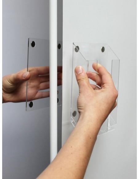 Kieszenie magnetyczne mocowane na wydruku