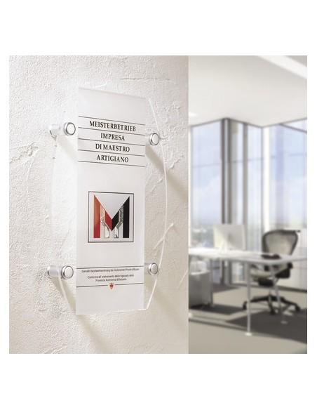 Tabliczka na śrubach dystansowych Fisso Midi