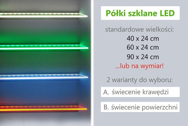 Podświetlane Półki Led Chris Krzysztof Sawicki